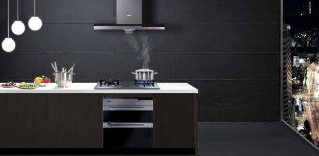 除油烟机 厨房装修案例 装修伙伴网是南京领先的装修公司