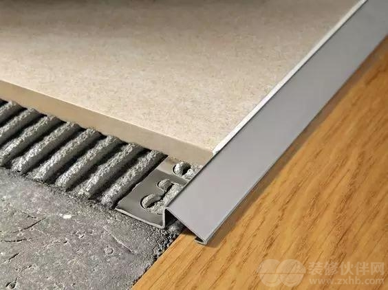 石材与木地板交接(z型收边条)